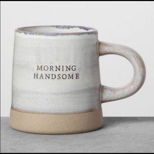 New Hearth and Hand Morning Handsome stoneware mug